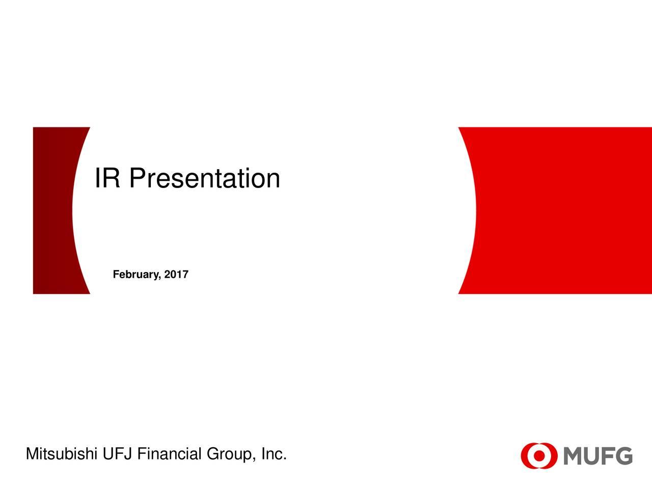 Mitsubishi UFJ Financial (MTU) Presents At CLSA Japan Forum