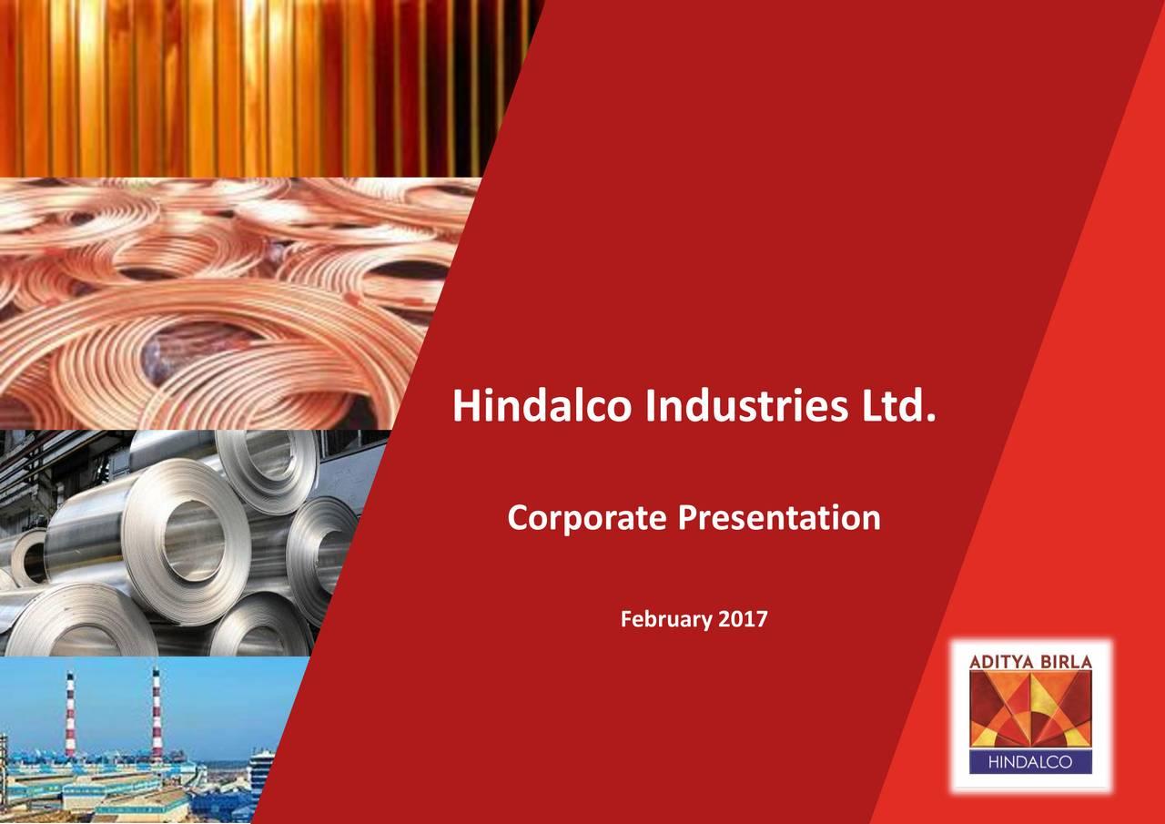 Corporate Presentation February 2017