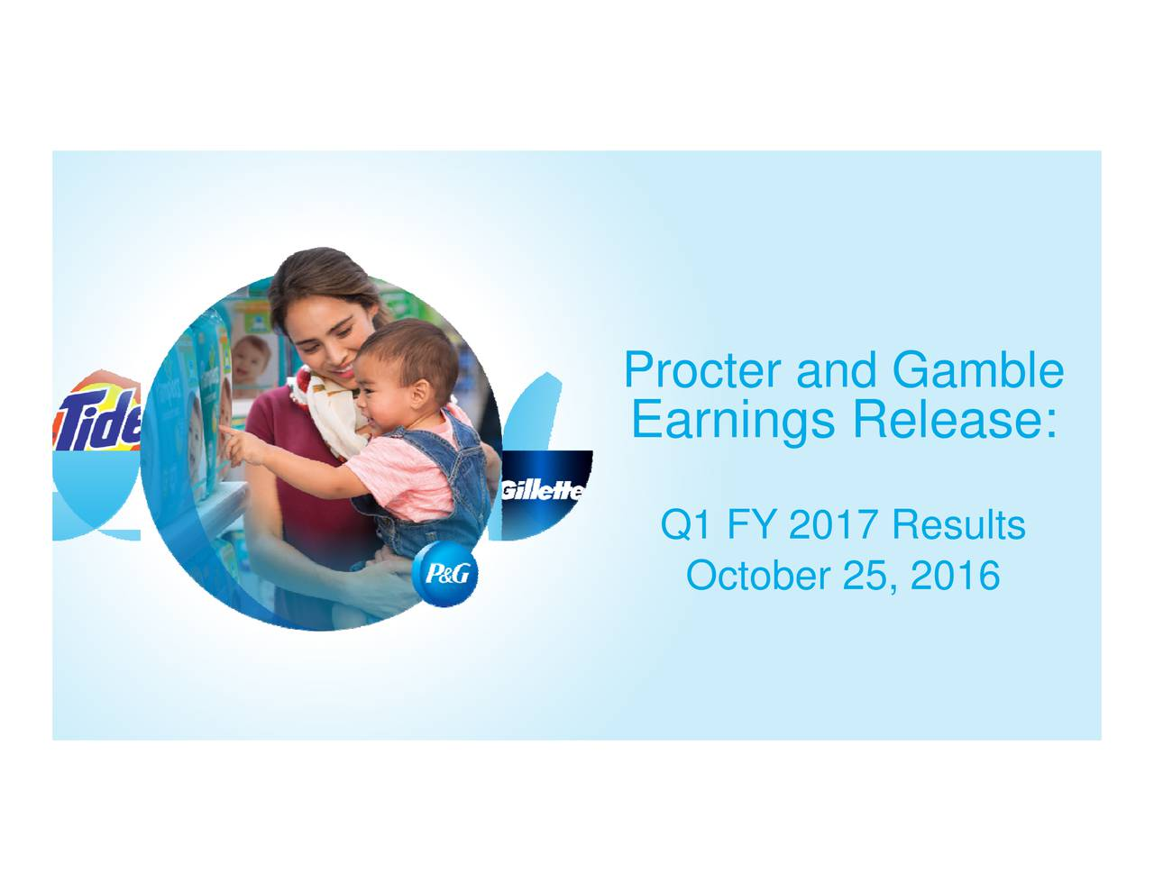 external environment for procter and gamble Cincinnati--(business wire)--the procter & gamble company (nyse:pg) today expanded its sustainability goals to continue creating value with consumer-preferred brands and products while.