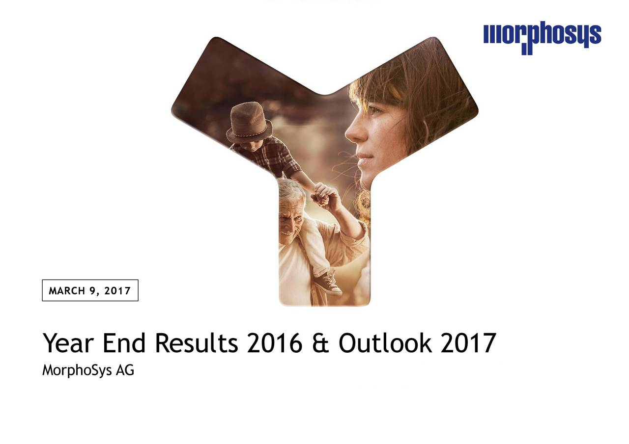 Year End Results 2016 & Outlook 2017 MorphoSys AG