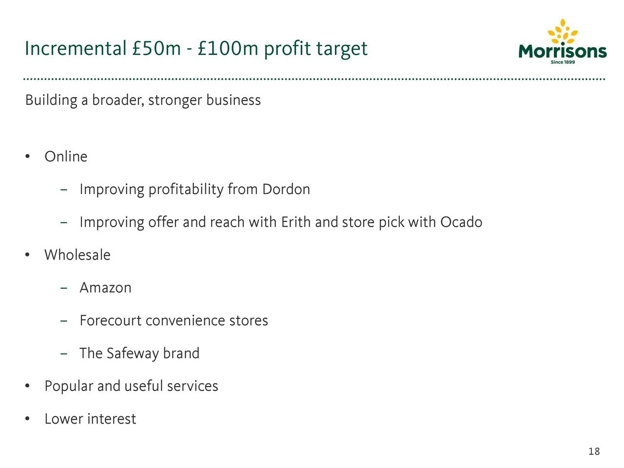 WM Morrison Supermarkets Plc. 2016 Q2 - Results - Earnings Call ...