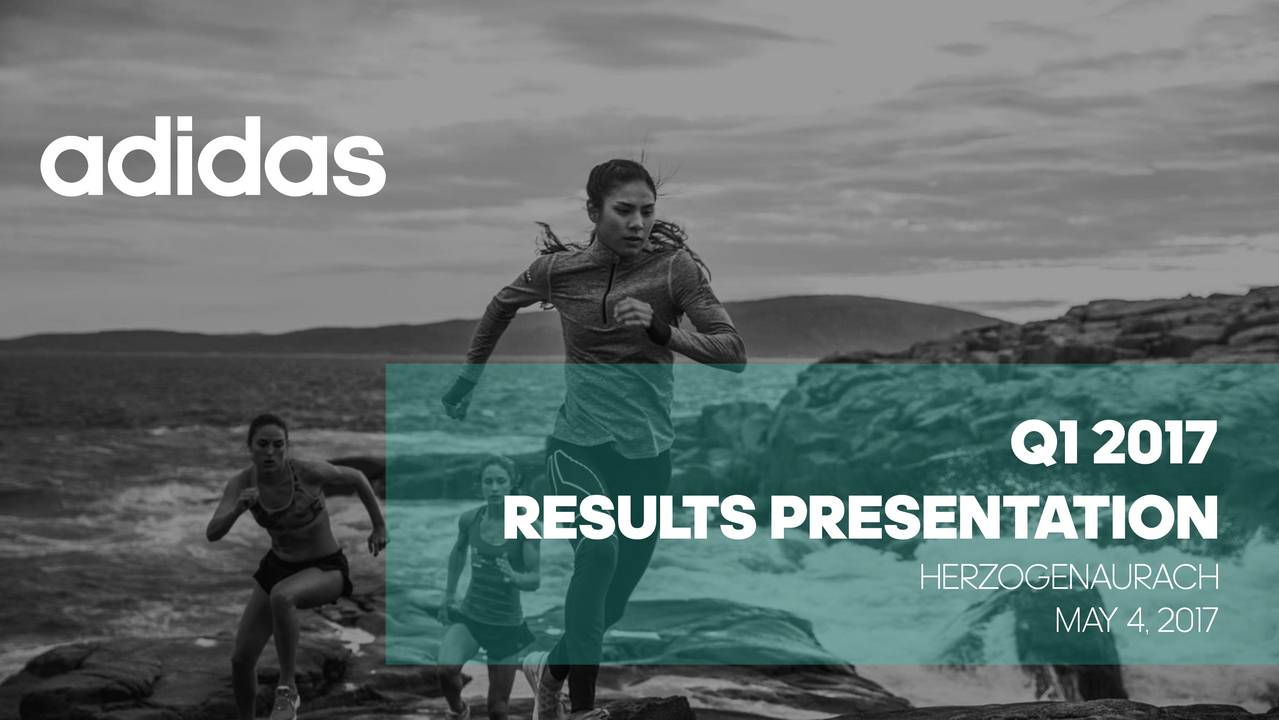 adidas AG ADR 2017 Q3 - Results - Earnings Call Slides
