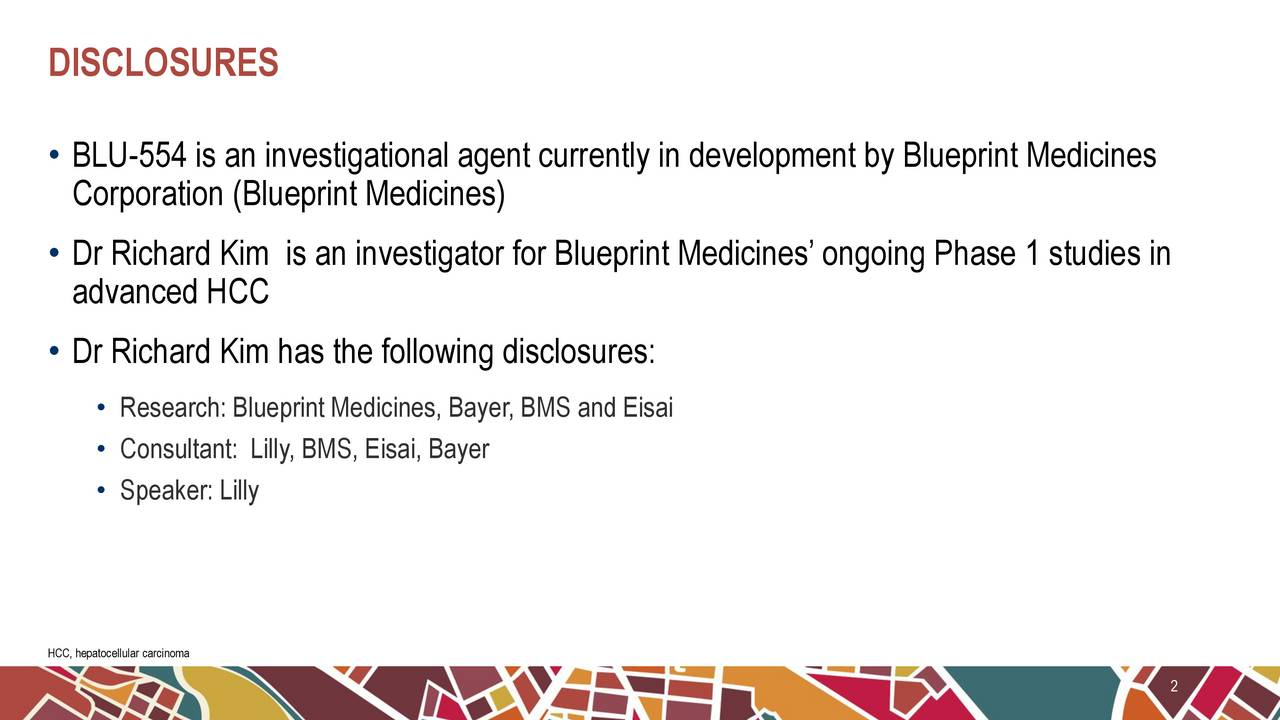 Blueprint medicines bpmc updates on phase 1 clinical trial of blu blu 554 is an investigational agent currently in development by blueprint medicines corporation blueprint malvernweather Images