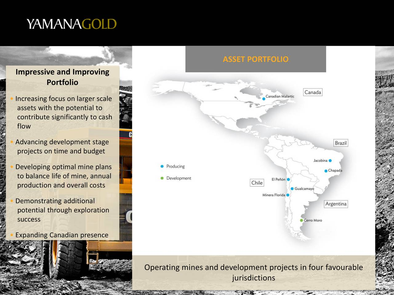 Auy Stock Quote Yamana Gold Auy Presents At European Gold Forum 2017  Slideshow